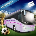 Football Team Bus: Fans Players Bus Driver RUSSIA icon