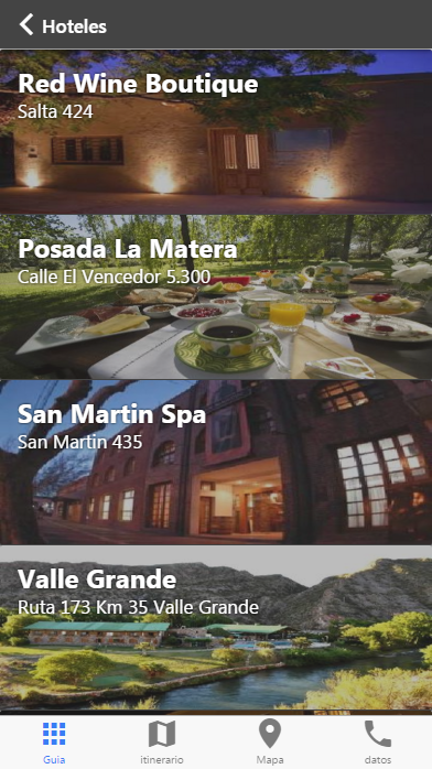San Rafael Guide Tour: captura de pantalla