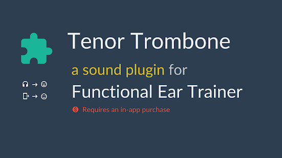 Tenor Trombone *Plugin*- screenshot thumbnail