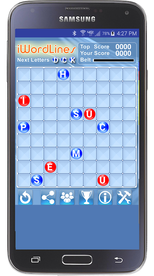 i Word Lines Puzzle Game- screenshot