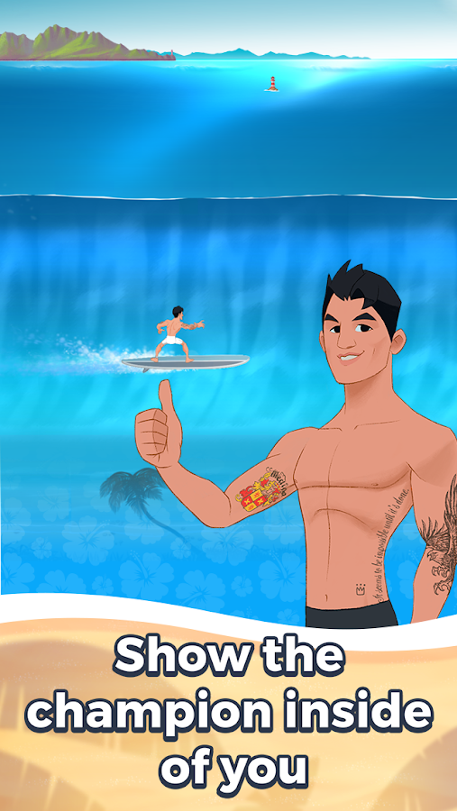 Go! Medina Surf Game- screenshot