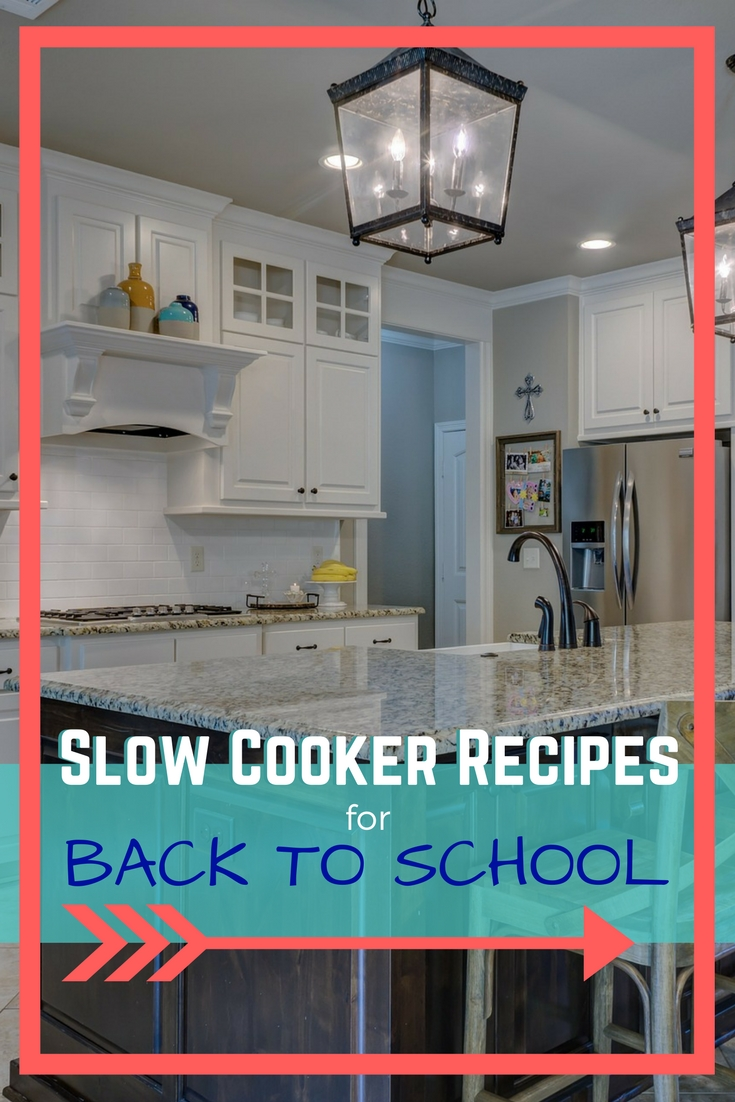 Back to School Slow Cooker Recipes