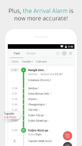 KakaoMetro - Subway Navigation 3.4.5 screenshots 4