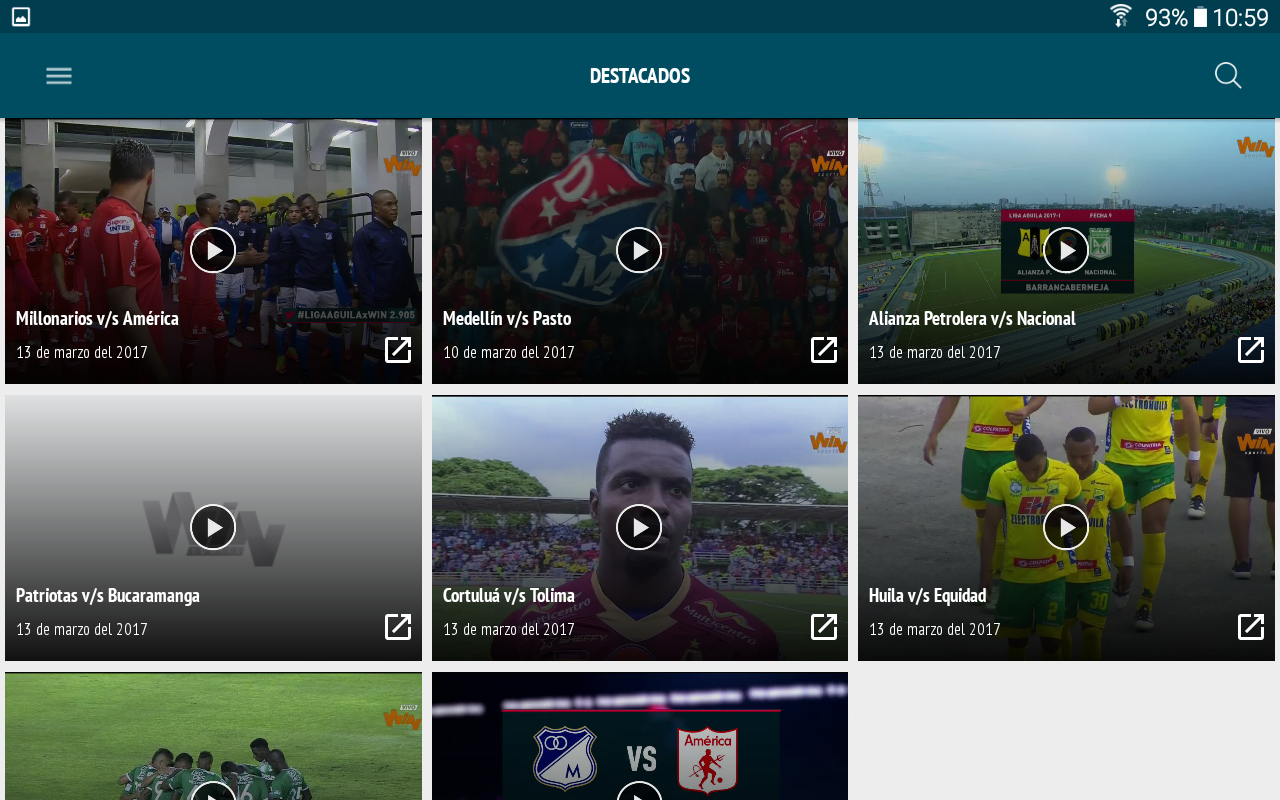 Win Sports Online- screenshot