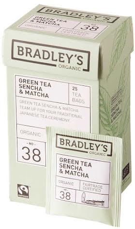 Grönt te sencha med matcha – Bradley´s