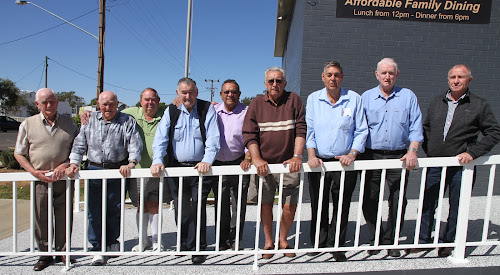 reUNION: Former Namoi Valley County Council staff Neville Smallwood (1965-75), Clem Stanford (33 years service), Clarrie Leven (1969-1990), Brian Fogarty (29 years), Ken Simpson (1961-1981), Bob Wales (1955-1996), John McGovern (1968-1995), Barry Wright (1973-1998) and Steve Johnson (1968-74).