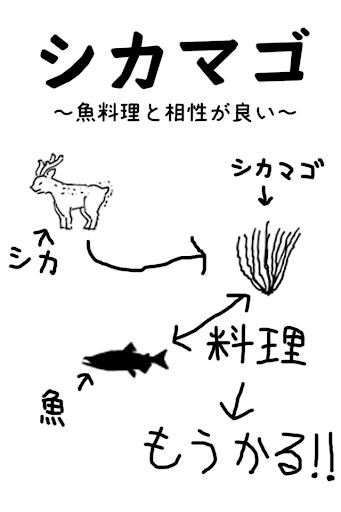 シカマゴ 〜魚料理と相性が良い〜