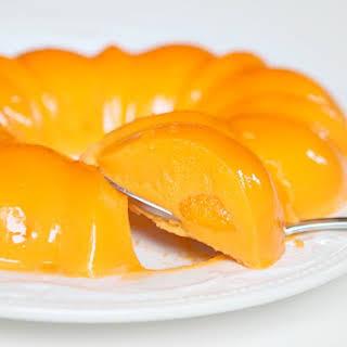 Orange Sherbet Jello Salad.