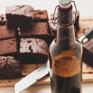 Coffee Beer Brownies.