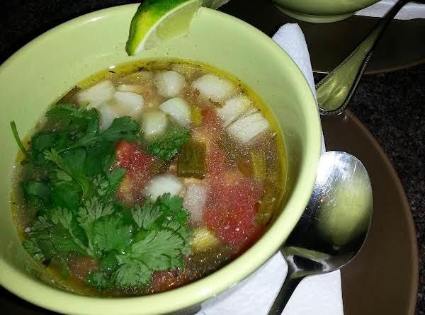 Abuelita's Pozole De Pollo Recipe