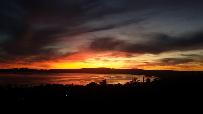 Lago di Bolsena al tramonto di Gianluca99