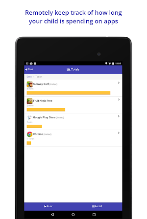 9 Screen Time Parental Control App screenshot