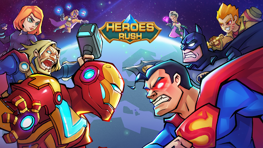 Heroes Rush: Clash Lords  code Triche 1