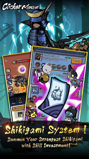 Télécharger Gratuit Clicker Monster: RPG Idle Game APK MOD (Astuce) screenshots 1