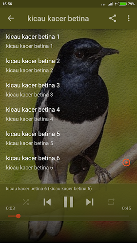 Download Master Kicau Burung Kacer By Big Emo Labs Apk Latest Version For Android