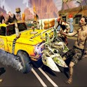 Taxi vs Zombie icon