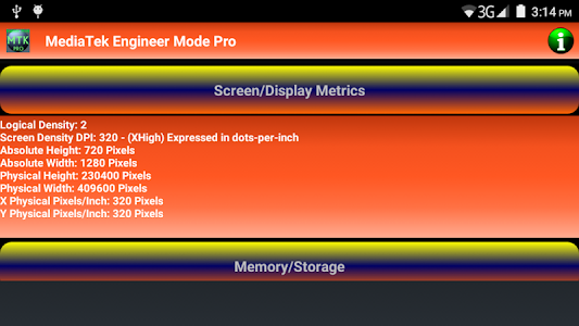 MediaTek Engineer Mode Pro screenshot 4