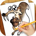 Learn To Draw Ice Age icon