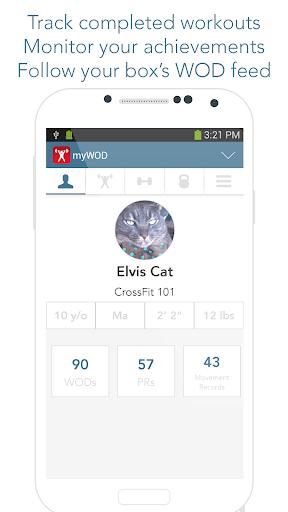 myWOD — WOD Log for XF