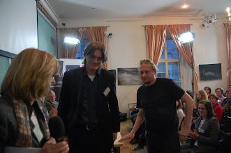 Photo: Cena NFJL za mediální počin roku 2011 byla udělena Tomáši Němečkovi a Václavu Drchalovi za vedení přílohy Lidových novin Právo a Justice.