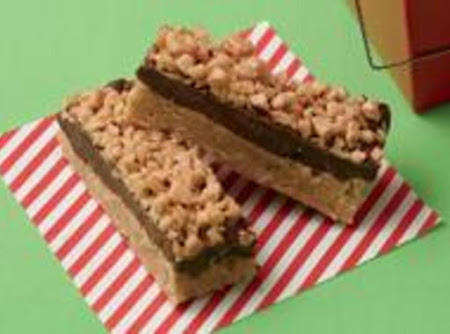 Peanut Butter Toffee Bars Recipe