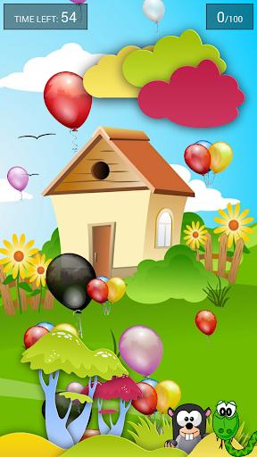 Babies Balloons Game Phone
