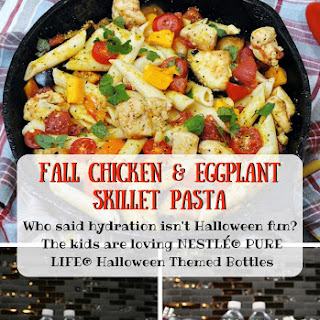Chicken & Eggplant Skillet Pasta Recipe