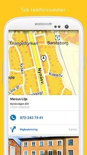 Eniro - Sök företag & personer screenshot 04