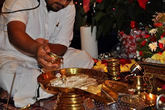 Photo: Guru Pada Pooja