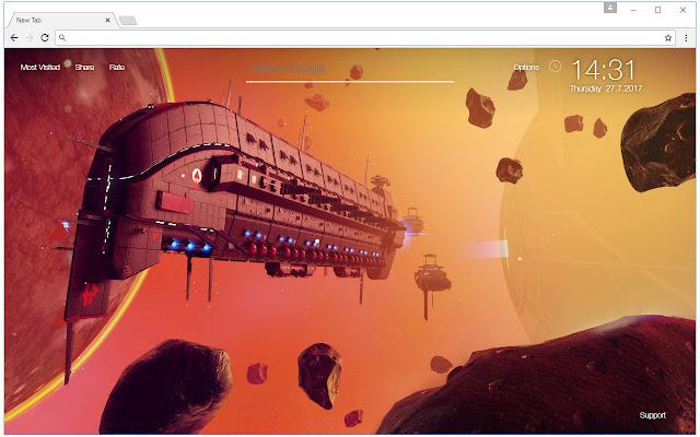 No Man's Sky Wallpaper HD New Tab