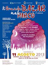 Foto: IL GRANDE BAZAR NEL PARCO - edizione notturna - Domenica 11 agosto 2013 a Gorizia.
