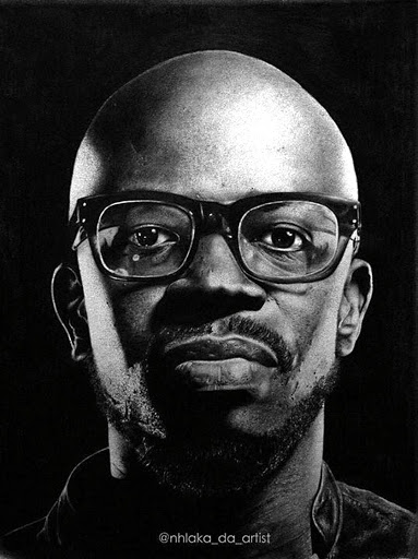 Black Coffee bought his own portrait.