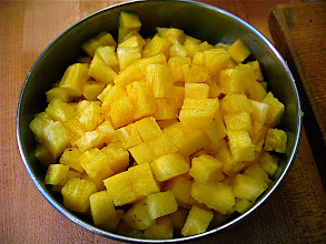 Photo: diced pineapple