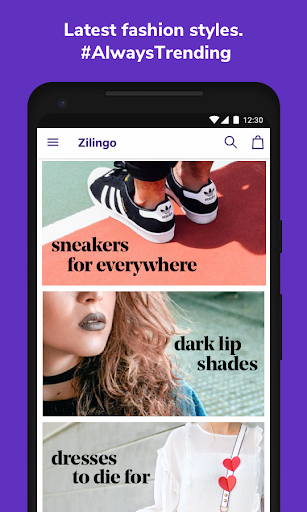 Zilingo Shopping 1.7.0 screenshots 1
