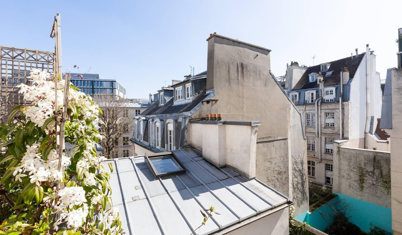 Appartement contemporain avec terrasse Paris 6ème