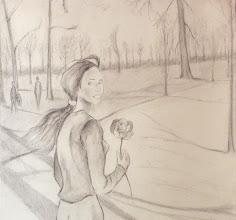 Photo: La Rose au parc ou le retour d'Alphise