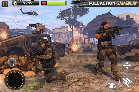 Real Commando Secret Mission - Free Shooting Games Capture d'écran