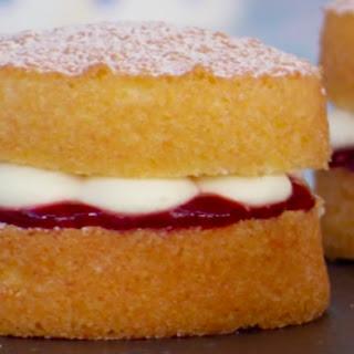 Mini Victoria Sponge Cakes.