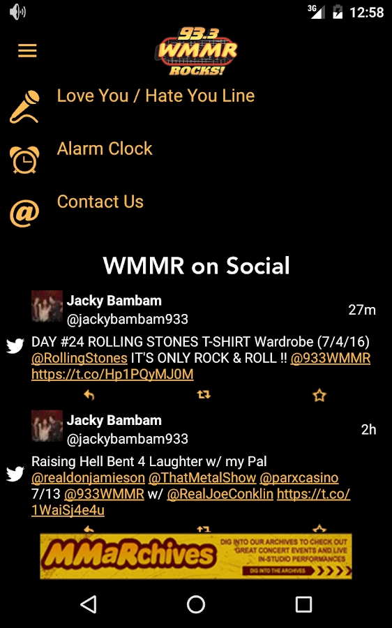 93.3 WMMR- screenshot