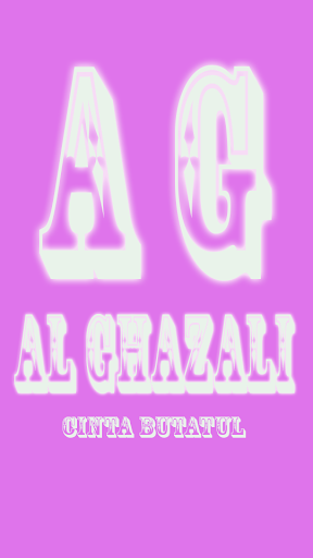 Al Ghazali Cinta Buta Tuli