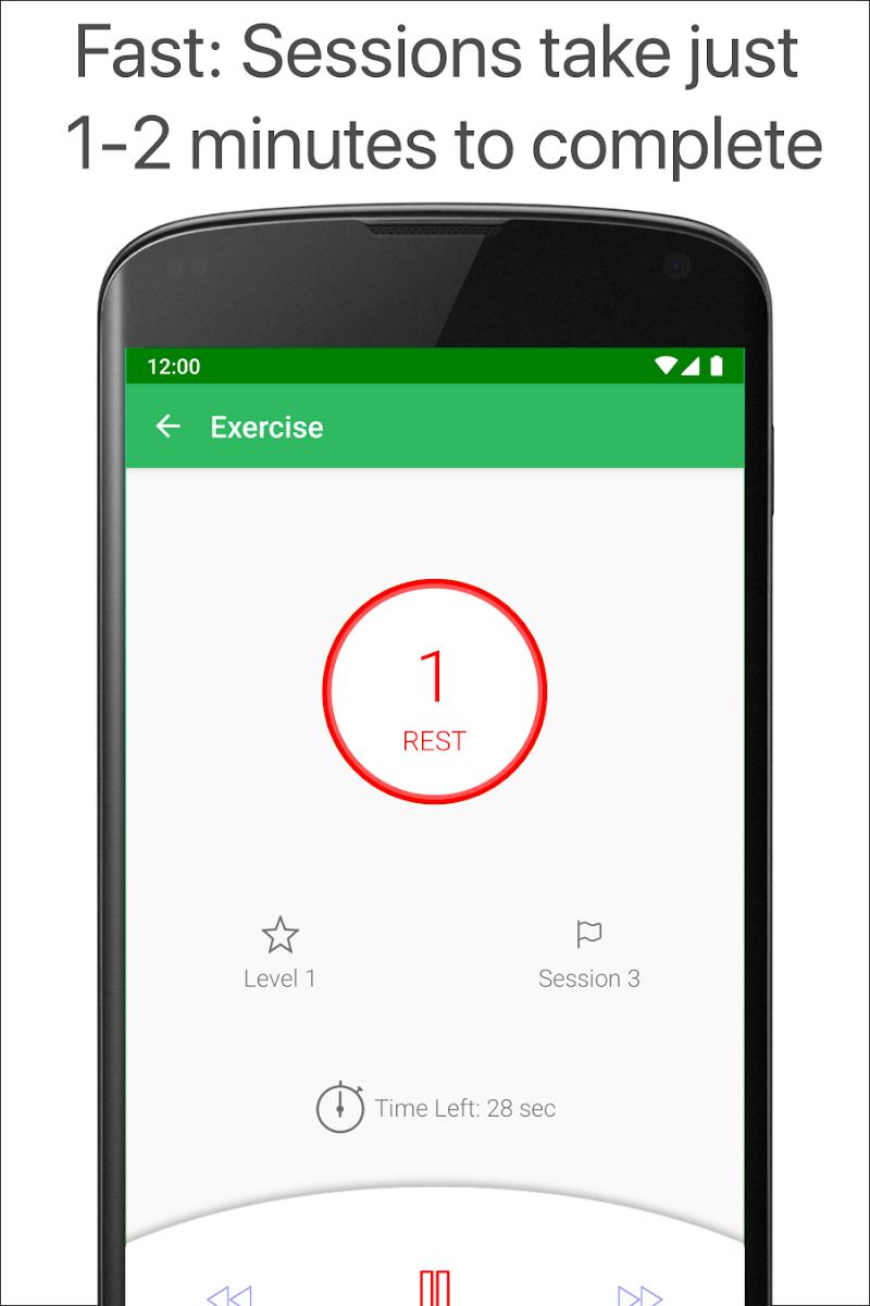 Kegel Trainer - Exercises Screenshot 10