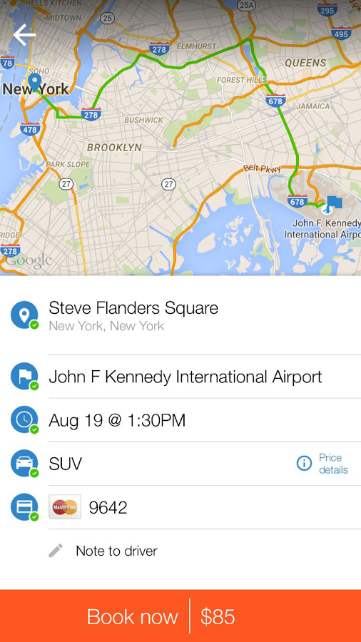 Icon Executive Transportation- screenshot