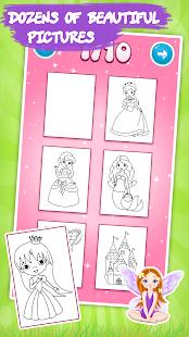 Game Kids coloring book: Princess APK for Windows Phone