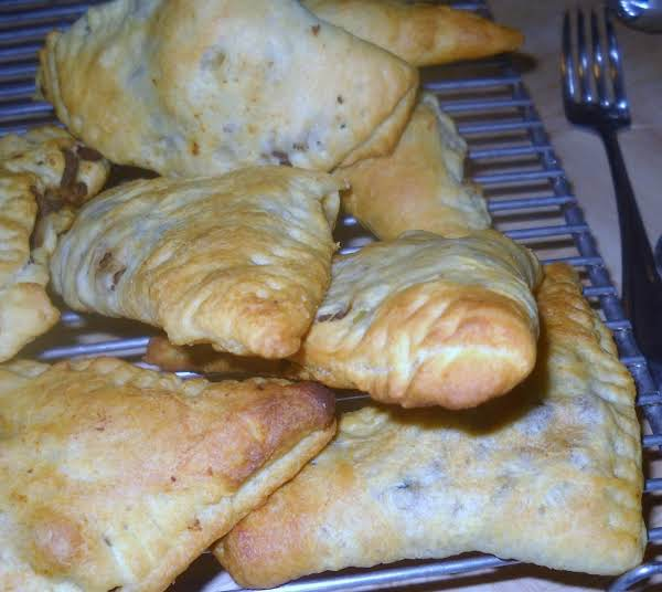 These Tasty Pockets Can Be An Snack, Potluck Food Or Main Dish With A Salad.  You Can Do All Kinds Of Different Fillings As Long As There Is Not Too Much Liquid.