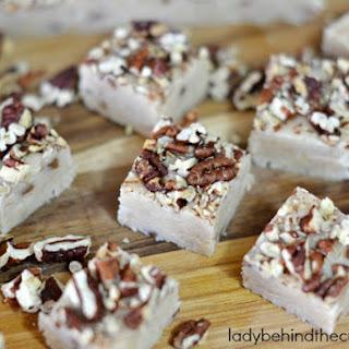 5 Minute Coconut Pecan Fudge