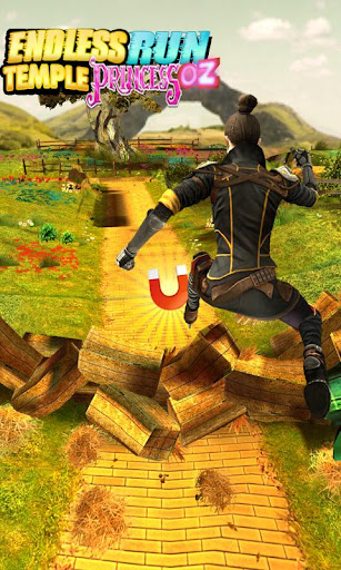 Endless Run Temple Princess Oz 1.0.1 screenshots 4