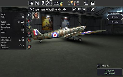 Warplanes: WW2 Dogfight  screenshots 16