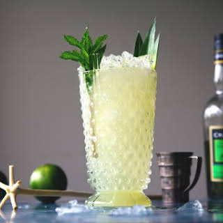 CHARTREUSE SWIZZLE.