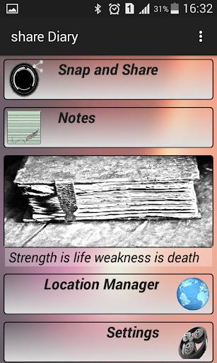 share Diary