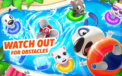 Talking Tom Pool - Puzzle Game Screenshot